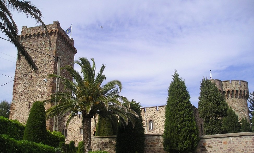 Château de la Napoule in Costa Azzurra