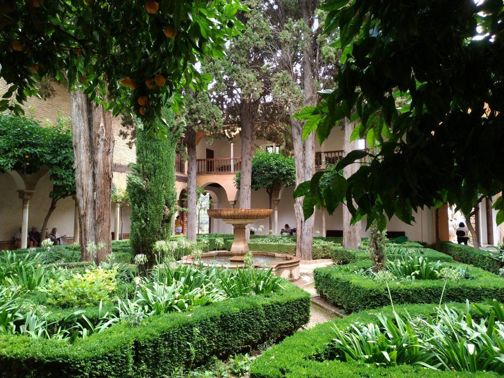 I Giardini dell'Alhambra di Granada in Andalusia