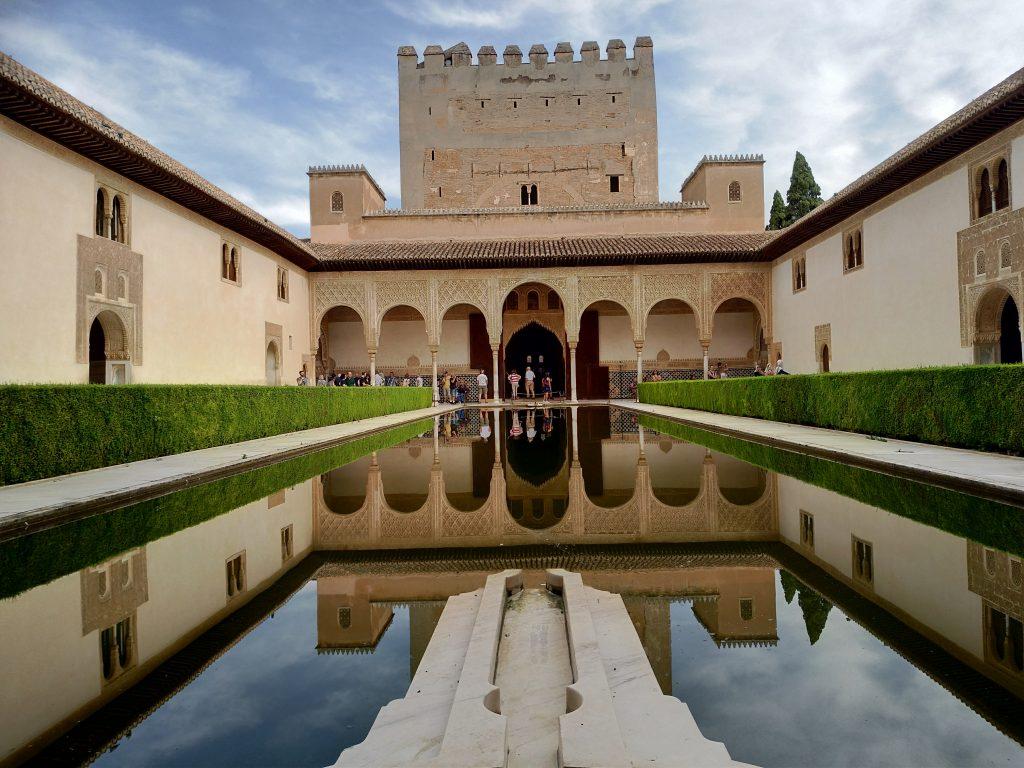 Granada e l'Alhambra in Andalusia, gli appartamenti del sultano
