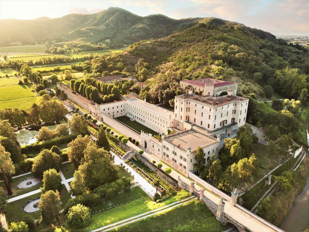 Veduta aerea Castello Catajo