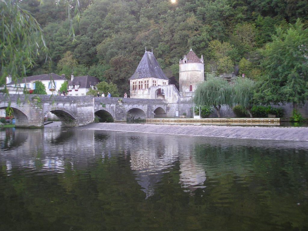Brantôme nel Périgord verde