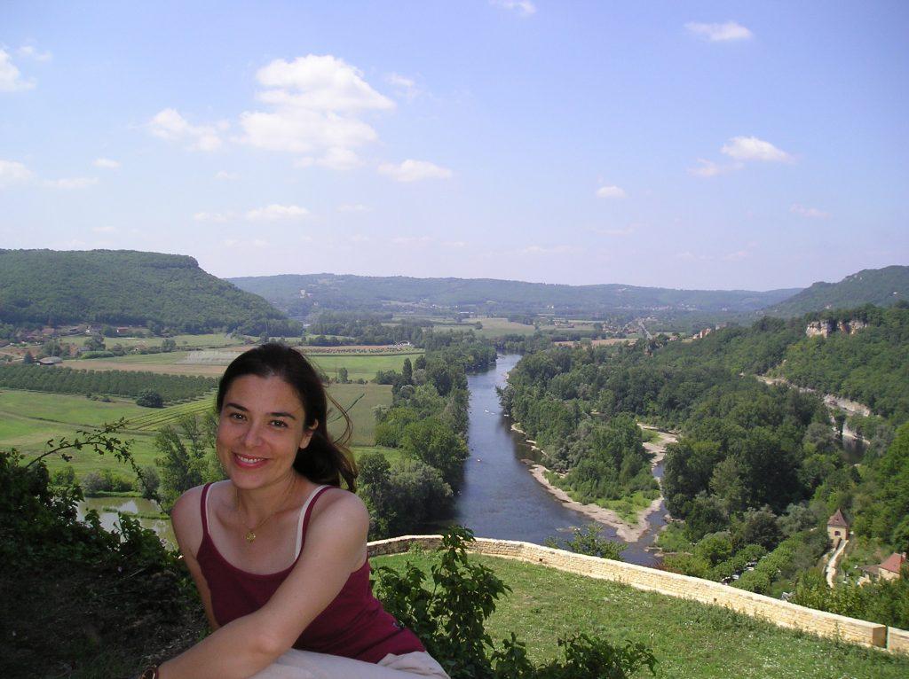 Travel blogger Veronica di Meraviglieuropa nel Périgord