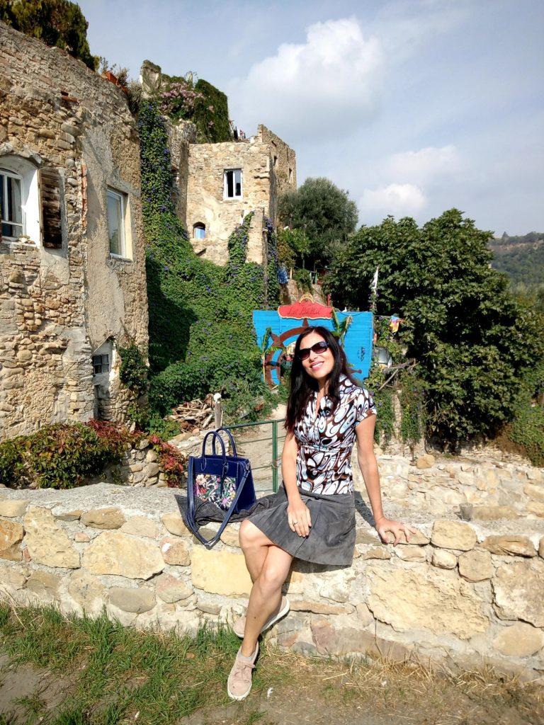 La travelblogger
