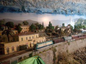 Trenino a Bussana Vecchia