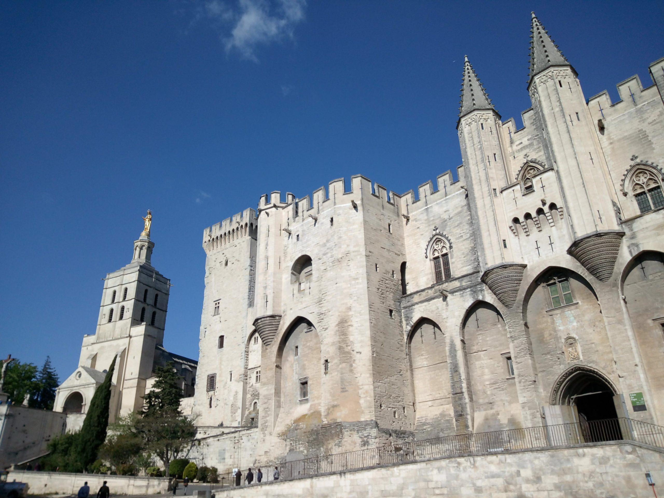 il palazzo dei papi Avignone
