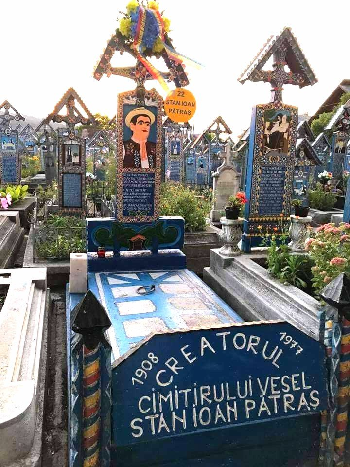Cimitero allegro Săpinta