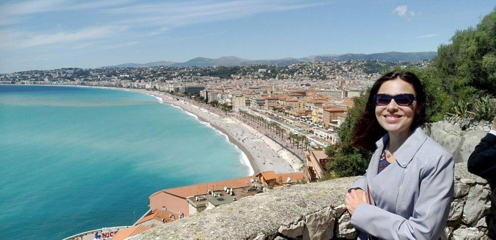 Cosa vedere a Nizza panorama dalla collina del castello sulla Baie des Anges