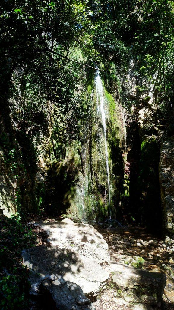 Cascata sul sentiero di Nietzsche
