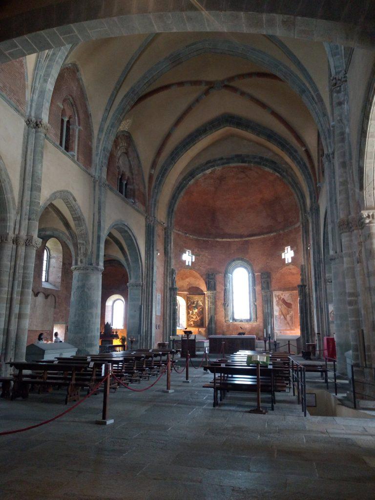 La chiesa della Sacra di San Michele