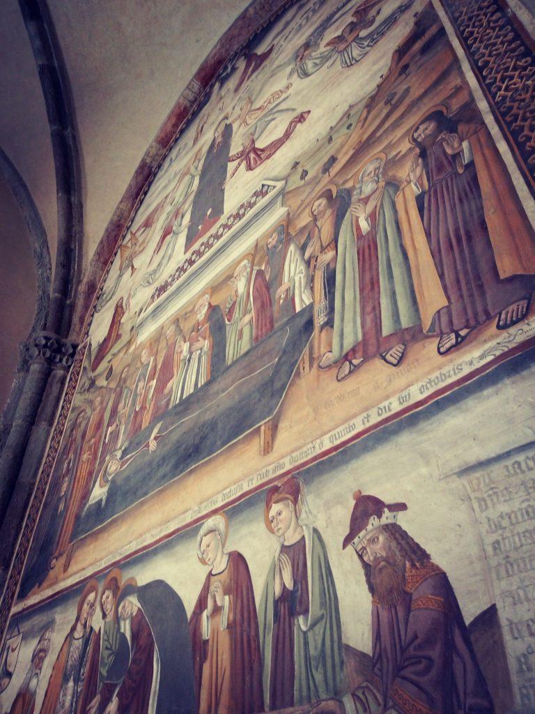 affreschi del XVI secolo