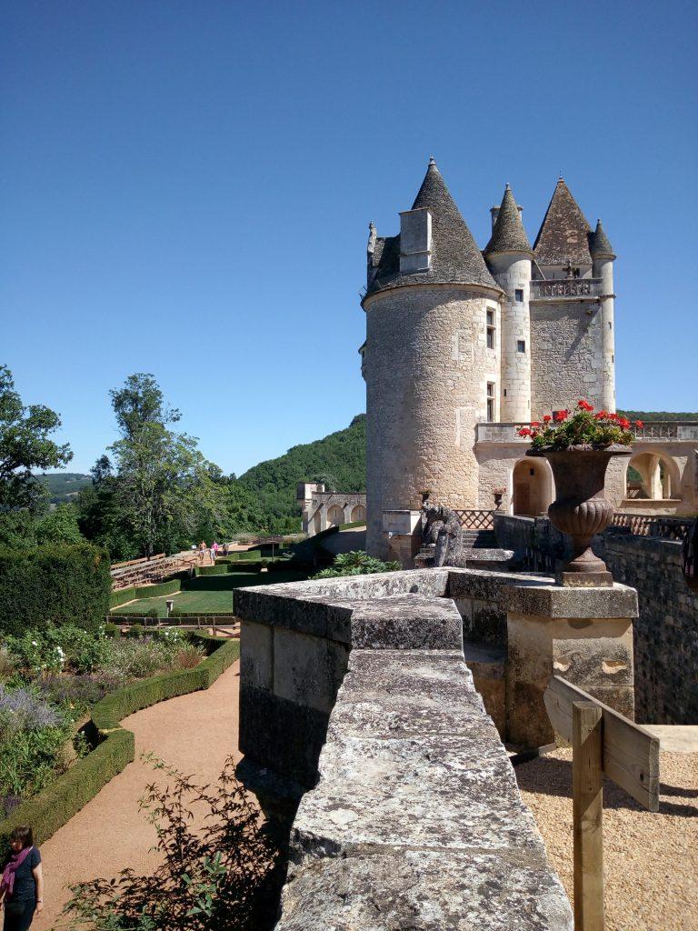 I giardini del castello des Milandes di Josephine Baker